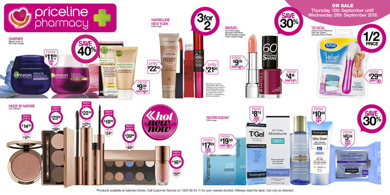 Priceline & Priceline Pharmacy's 'Beauty School' catalogue offers ...